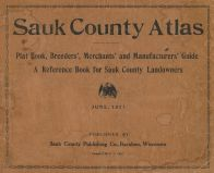 Title Page, Sauk County 1921